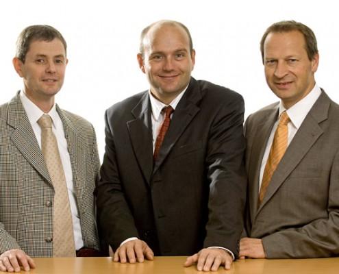 Bernd Dörries, Henning Busch und Stefan Weihe